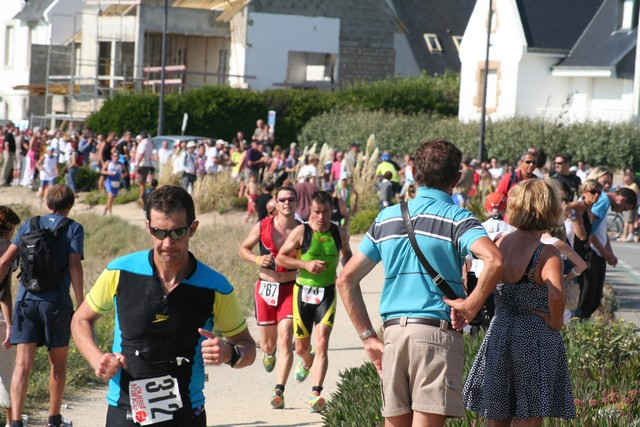 Vous visualiser les photos de : Photos du triathlon de Quiberon Sprint et CD